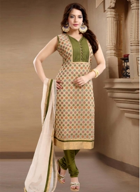 Banglori Silk Readymade Churidar Suit