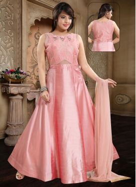 Banglori Silk Readymade Long Length Gown