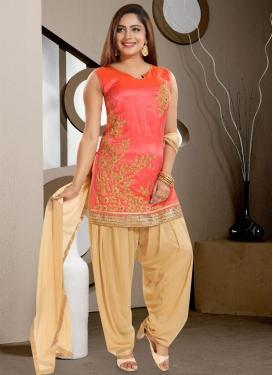 Banglori Silk Readymade Salwar Kameez For Ceremonial