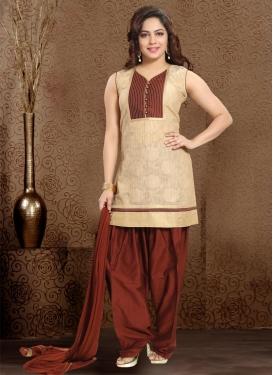 Banglori Silk Readymade Salwar Suit For Ceremonial