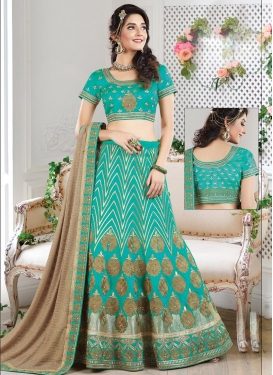 Baronial A - Line Lehenga For Party