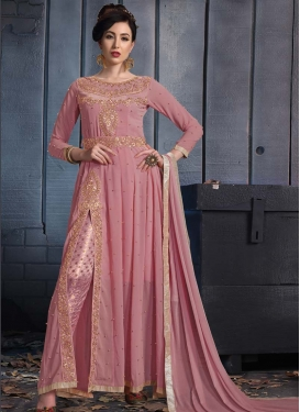 Beads Work Pant Style Classic Salwar Suit