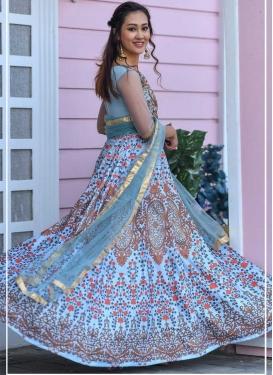Beads Work Readymade Designer Gown