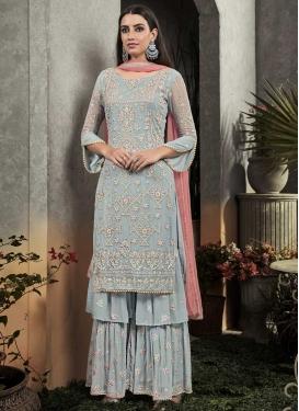 Beads Work Trendy Designer Salwar Kameez