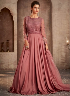 Beads Work Trendy Long Length Suit