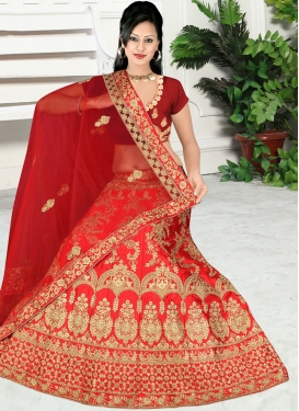 Beauteous Zari Reception Trendy Lehenga Choli