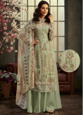 Bembarg Palazzo Style Pakistani Salwar Suit
