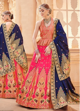 Best Hot Pink Wedding Designer Lehenga Choli