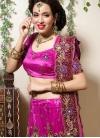 Best Magenta Bridal Designer Lehenga Choli - 1