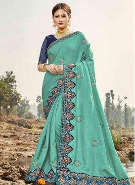 Bhagalpuri Silk Designer Contemporary Style Saree