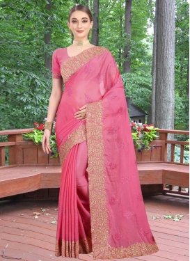 Booti Work Designer Contemporary Style Saree