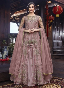 Booti Work Net Long Length Designer Suit