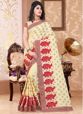 Booti Work Trendy Classic Saree
