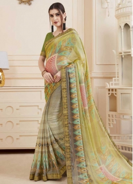Brasso Designer Traditional Saree