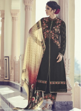 Brasso Georgette Pant Style Classic Salwar Suit