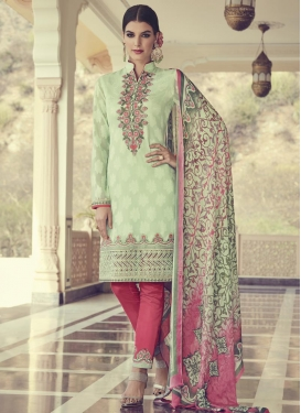 Brasso Georgette Pant Style Classic Suit