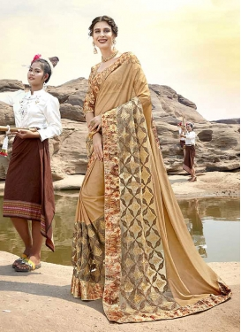 Brilliant Print Classic Saree