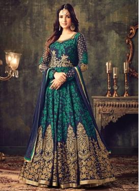 Celestial Booti Work Trendy Salwar Suit
