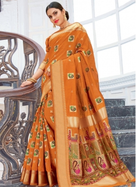 Chanderi Cotton Traditional Designer Saree