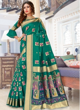 Chanderi Cotton Trendy Classic Saree