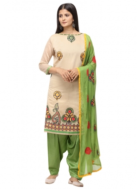 Chanderi Cotton Trendy Salwar Kameez