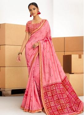 Chanderi Silk Classic Saree For Ceremonial