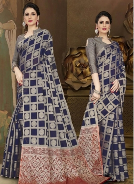 Chanderi Silk Designer Contemporary Saree