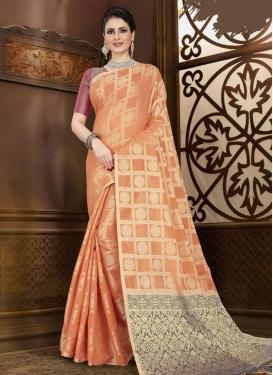 Chanderi Silk Designer Contemporary Saree