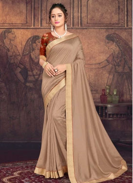 Chanderi Silk Designer Contemporary Style Saree For Casual