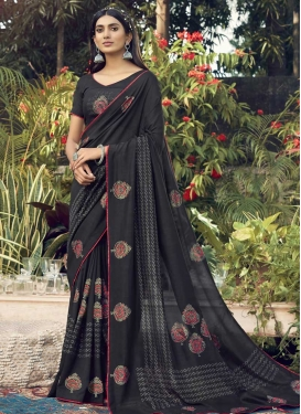 Chanderi Silk Designer Traditional Saree