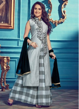 Chanderi Silk Readymade Designer Salwar Suit