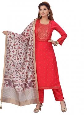 Chanderi Silk Readymade Salwar Kameez