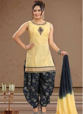 Chanderi Silk Readymade Salwar Suit