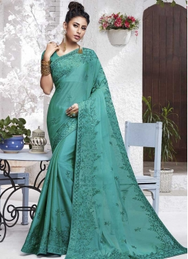 Chiffon Satin Trendy Classic Saree