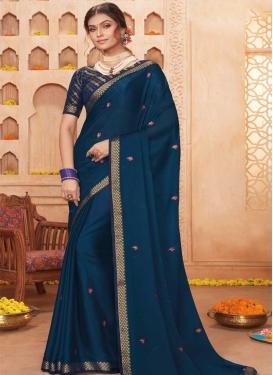 Chiffon Satin Trendy Classic Saree
