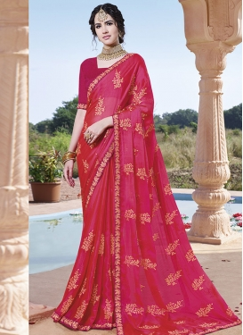 Chinon Traditional Designer Saree