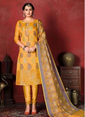 Churidar Salwar Suit For Casual