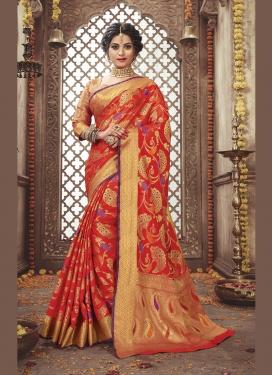 Competent Art Silk Designer Traditional Saree