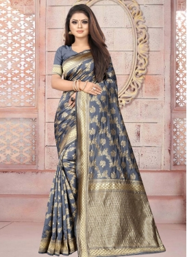 Contemporary Style Saree For Casual