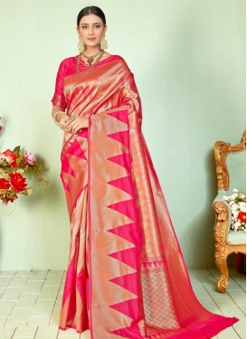 Contemporary Style Saree For Festival