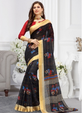 Cotton Designer Contemporary Saree