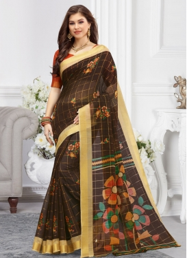 Cotton Designer Contemporary Style Saree