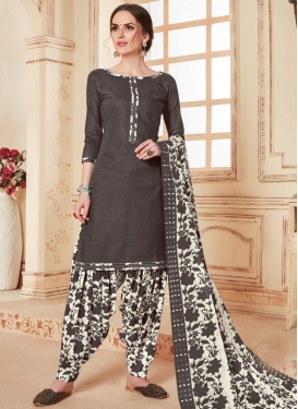 Cotton Designer Patiala Salwar Kameez