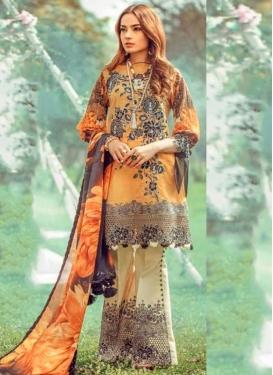 Cotton Digital Print Work Pant Style Pakistani Salwar Kameez