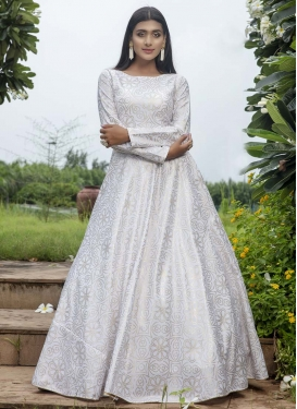 Cotton Floor Length Gown For Festival
