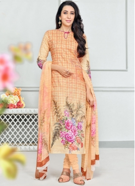 Cotton Karisma Kapoor Salwar Kameez For Casual