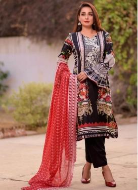 Cotton Lawn  Pant Style Classic Salwar Suit