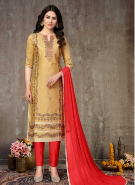 Cotton Pant Style Classic Salwar Suit For Casual