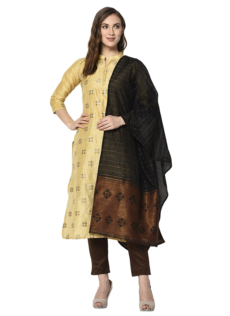 Cotton Pant Style Salwar Kameez For Casual