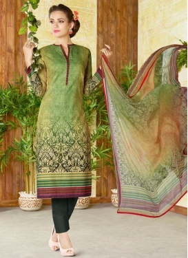 Cotton Pant Style Salwar Kameez For Ceremonial